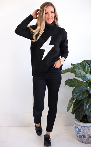 ELLE LAIN - JEANNIE BOLT SWEATER