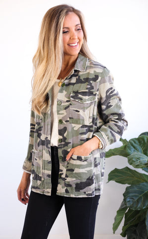 JULIANN CAMO JACKET