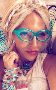 TURQUOISE DREAMS READING GLASSES - PRE ORDER