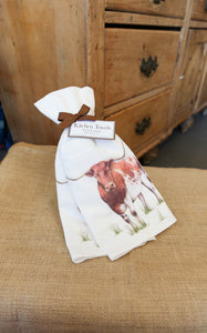FLOUR SACK TOWEL SET - LONGHORN
