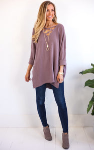 JAYNE TOP - MAUVE