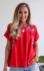 CHULA TOP - RED