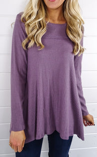 SWING HENLEY - PLUM