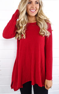 SWING HENLEY - RED