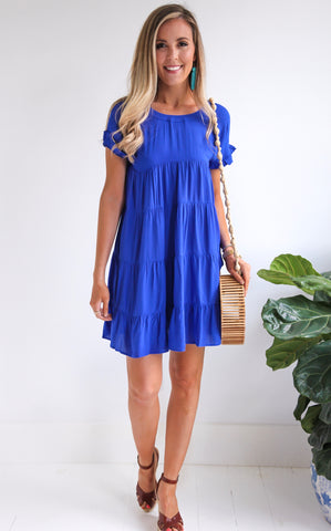ELLE LAIN - BLUE BELLE DRESS