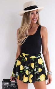 ELLE LAIN - TRISTA LEMON SHORTS