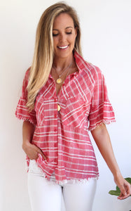 DARLA PLAID TOP
