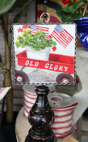 MINI PIE CRUST ART - OLD GLORY WAGON