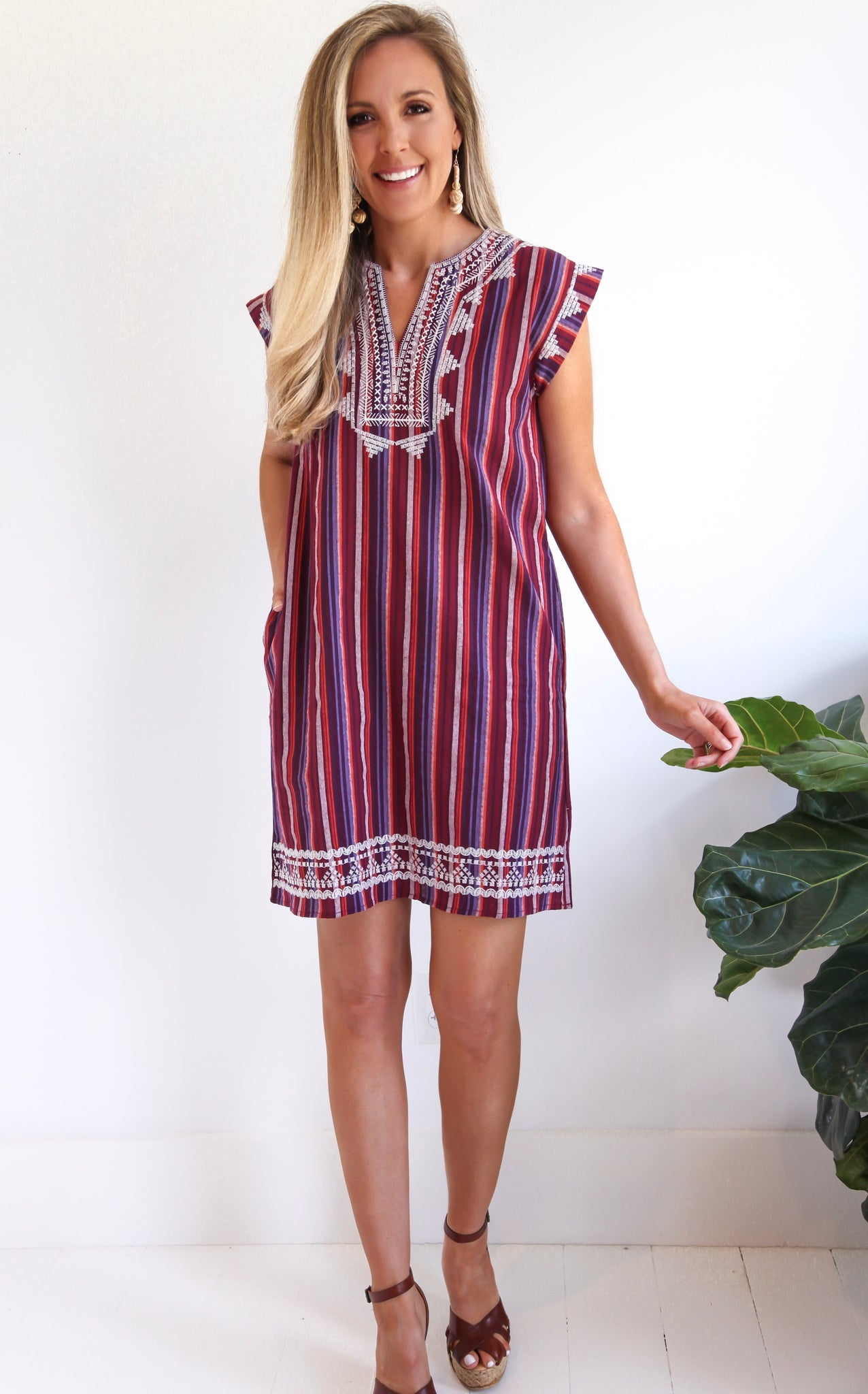 SELENA SERAPE DRESS