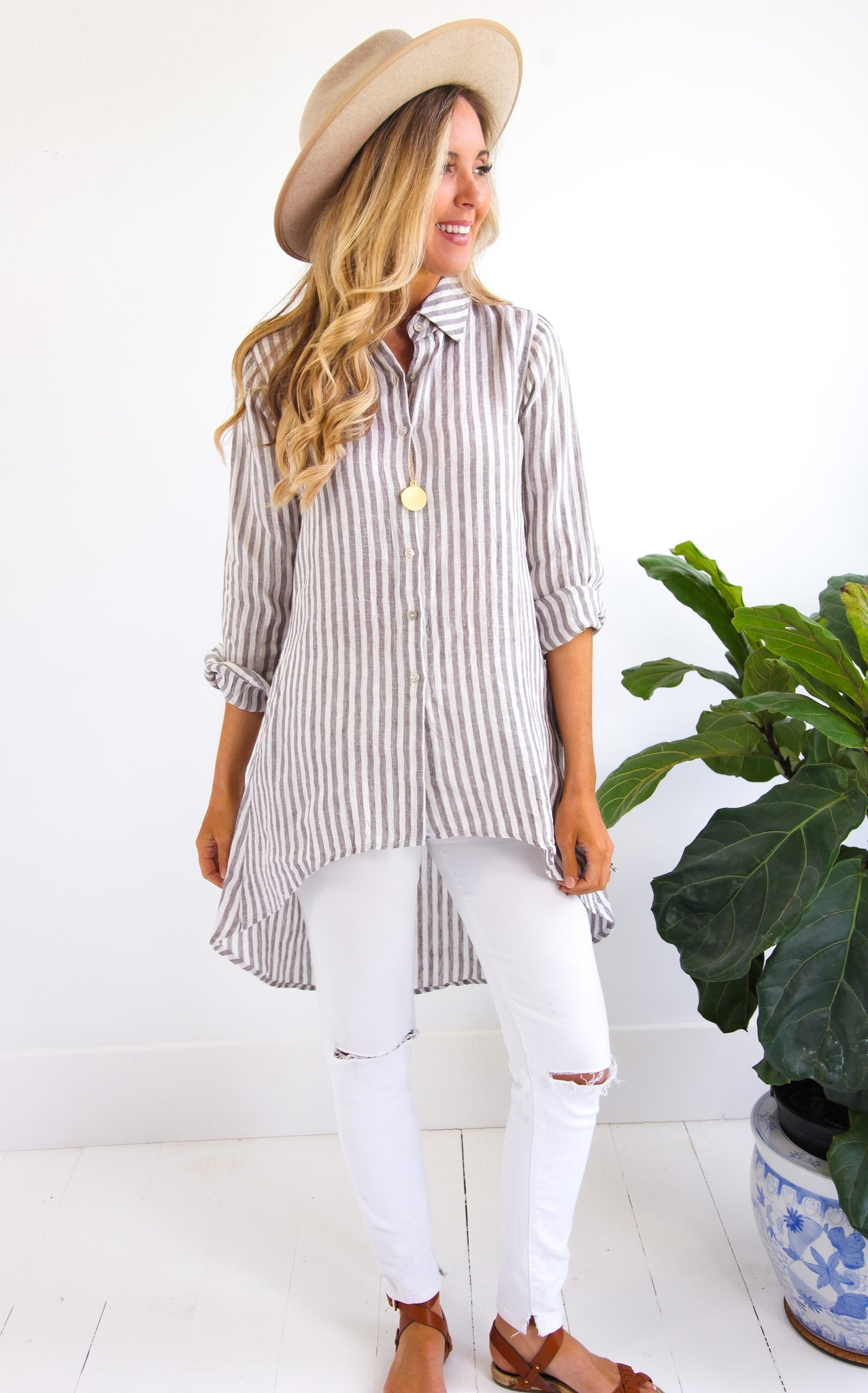 HILO STRIPE SHIRT