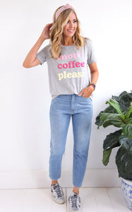 ELLE LAIN - MORE COFFEE TEE
