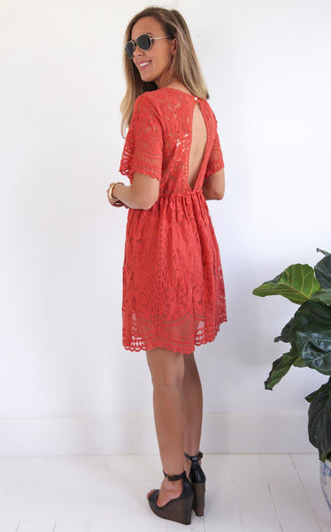 ELLE LAIN - LYON LACE DRESS