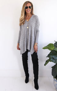 CHARLI SWEATER - GREY