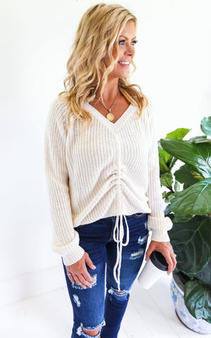 ELLE LAIN - DEL MAR KNIT - CREAM