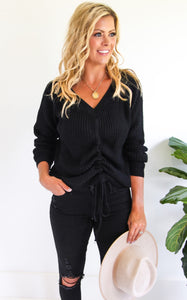 ELLE LAIN - DEL MAR KNIT - BLACK