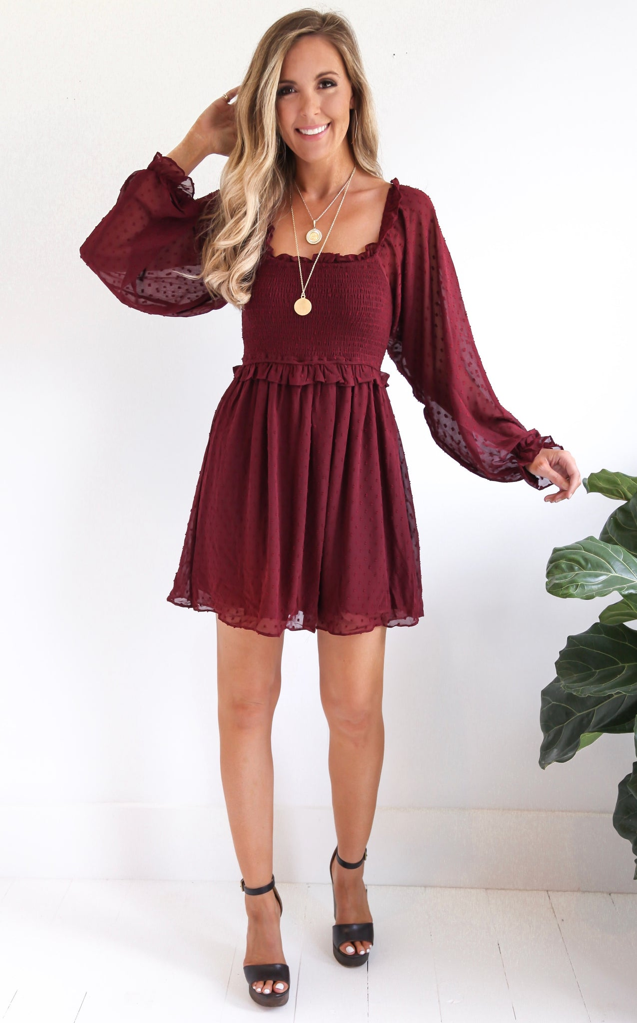 ELLE LAIN - EVA DOT DRESS