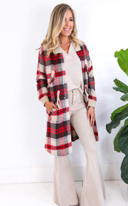 CAROLINA PLAID JACKET