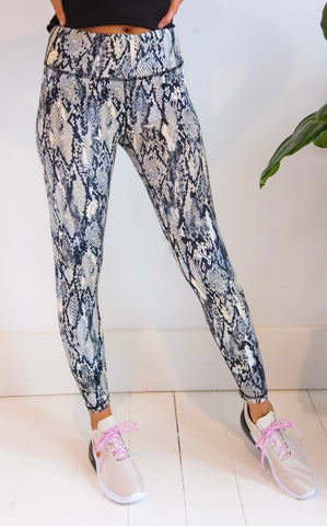 ELLE LAIN - BUTTER SOFT LEGGINGS - PYTHON