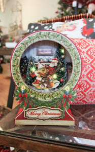 CHRISTMAS MUSIC BOX - RED - ADDITIONAL SHIPPING INCLUDED