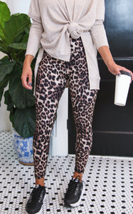 ELLE LAIN - BUTTER SOFT LEGGINGS - LEOPARD