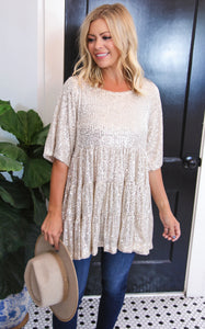 ALL THAT GLITTERS SWING TUNIC/DRESS