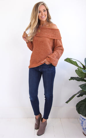 KENADY COWL NECK PULLOVER