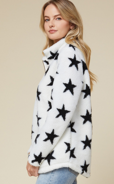 STAR FLEECE PULLOVER