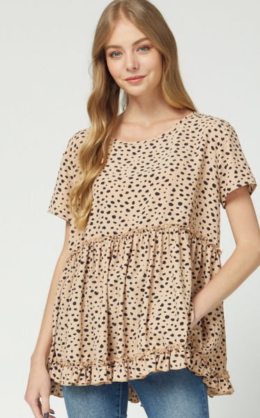 LOTTI LEOPARD TUNIC - PLUS
