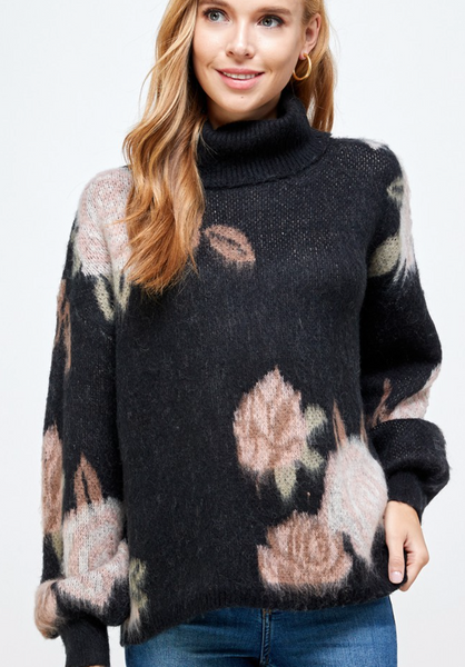 MIDNIGHT ROSE SWEATER
