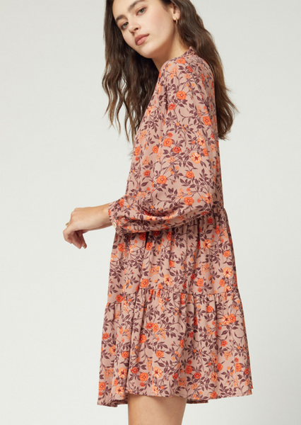 ELLE LAIN - ROSEWOOD SWING DRESS