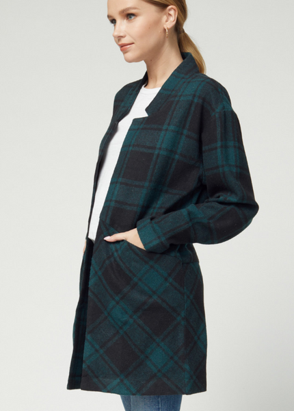 HOLLY COAT - GREEN