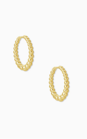 Josie Huggie Earrings - Gold