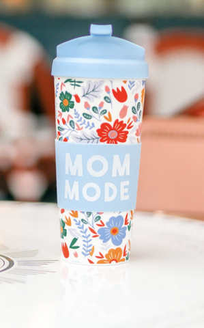 MOM MODE TRAVEL COFFEE MUG - INCLUDES ADDITIONAL SHIPPING COST