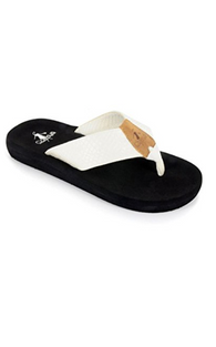 ROYAL SANDAL- WHITE