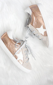 ELLE LAIN - STAR SNEAKERS - ROSE GOLD