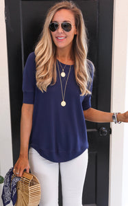 STYX TOP - NAVY