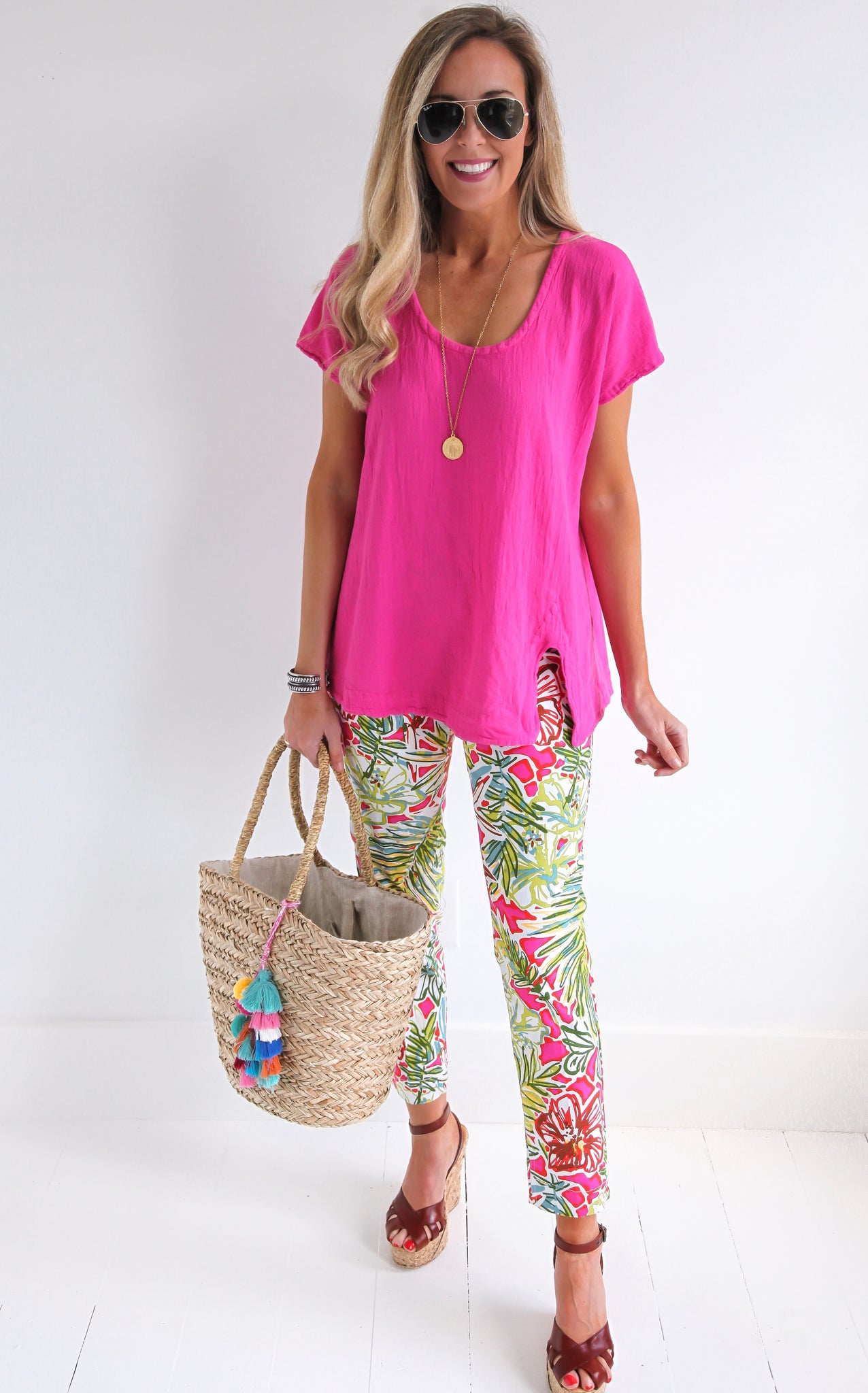 MULTI TROPICAL PANT