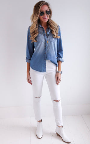 PUEBLO DENIM TOP