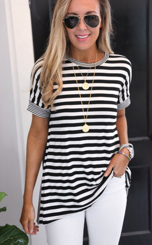 SYLVIA STRIPE TOP