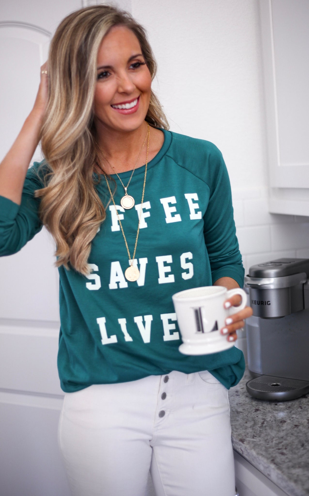 ELLE LAIN - COFFEE SAVES LIVES