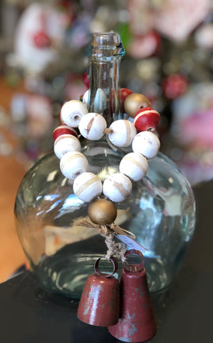 JINGLE BELLS - WHITE - INCLUDES ADDITIONAL SHIPPING