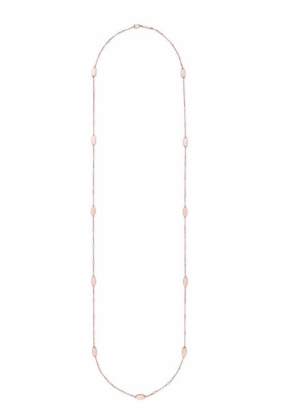 FRANKLIN LONG NECKLACE ROSE GOLD