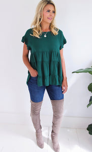 ELLE LAIN - ARMIE TIERED TOP