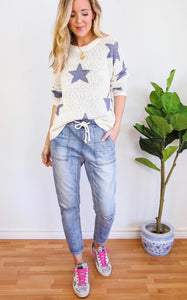 ELLE LAIN - SUMMER NIGHTS STAR SWEATER