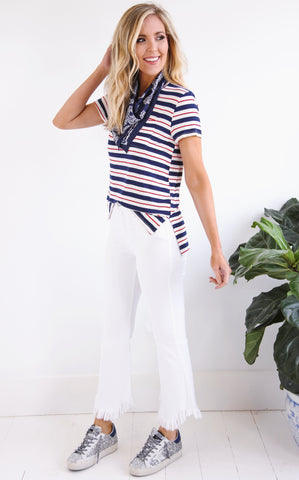 PATRIOT STRIPE TEE