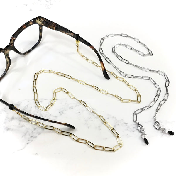 TRACI'S BEADS - GLASSES CHAIN