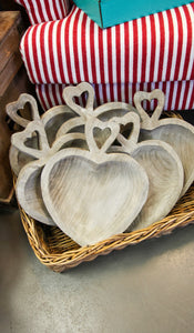 HEART WOOD BOWL - INCLUDES ADDITIONAL SHIPPING