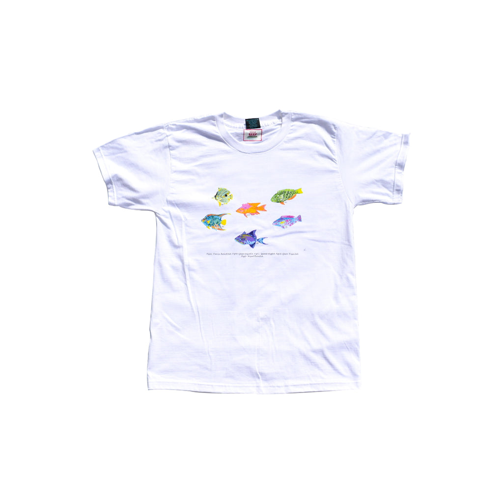 RESCUE DE REEF FISH T-SHIRT - Levi Marcus, Caribbean lifestyle, Trinidad and Tobago, Jamaica, Fashion