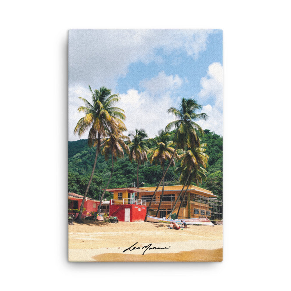 Castara Bay, Trinidad and Tobago (Canvas) - Levi Marcus