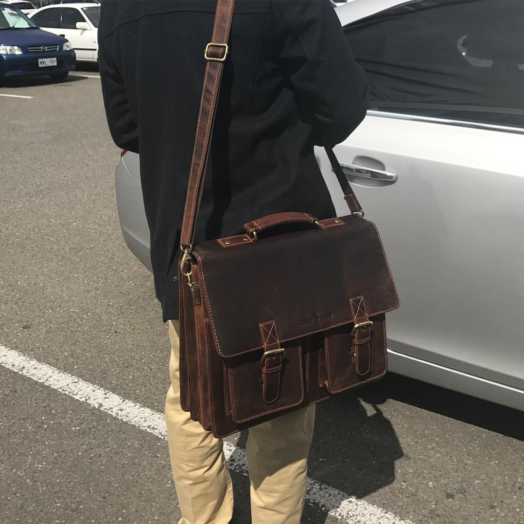 Leather Briefcase Melbourne